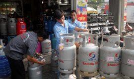 giá gas trên thị trường toàn quốc