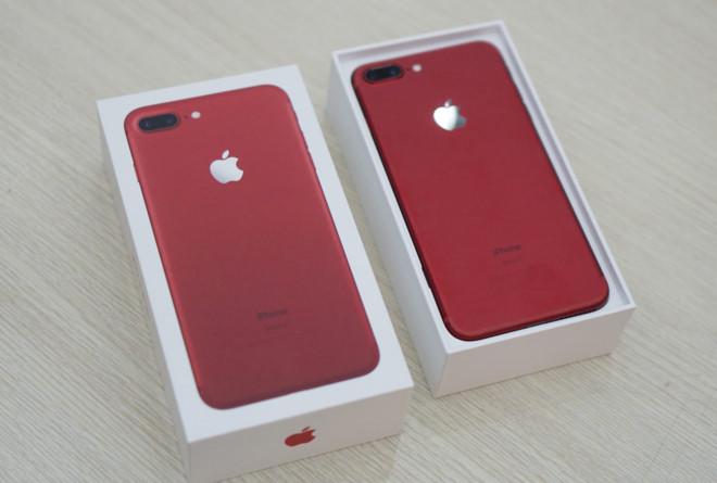iphone 7 và 7 màu đỏ chính thức lên kệ tại Việt Nam