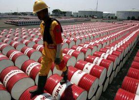 dầu thô giảm mạnh