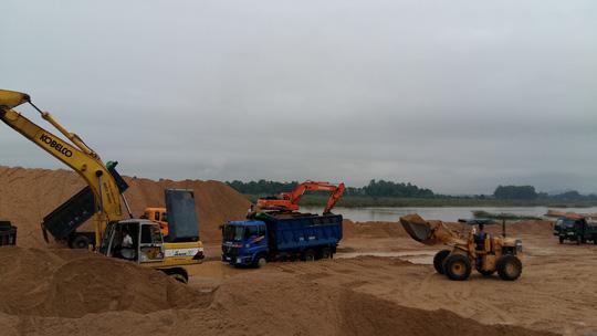 Giá cát tăng chóng mặt