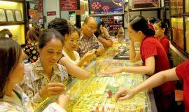 Giá vàng lại giảm giá do sự biến động vì tỉ lệ mức lương tư nhân của Mỹ