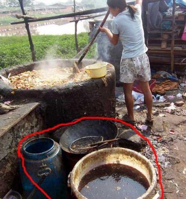thực phẩm bẩn, thực phẩm trung quốc
