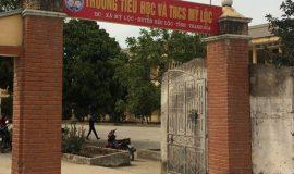 Bé lớp 1 tử vong bất thường tại trường học