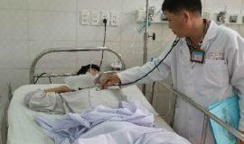 Bệnh nhân đang được điều trị tại Bệnh viện Thống Nhất(TP.HCM)