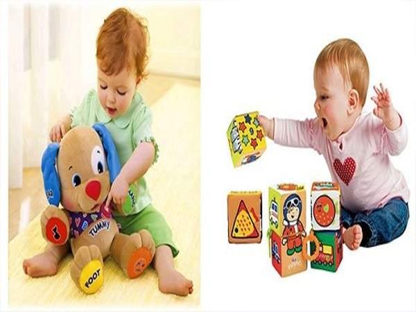 Mách mẹ chọn đồ chơi thông minh cho bé 1 tuổi