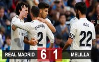 Real Madrid 6-1 Melilla