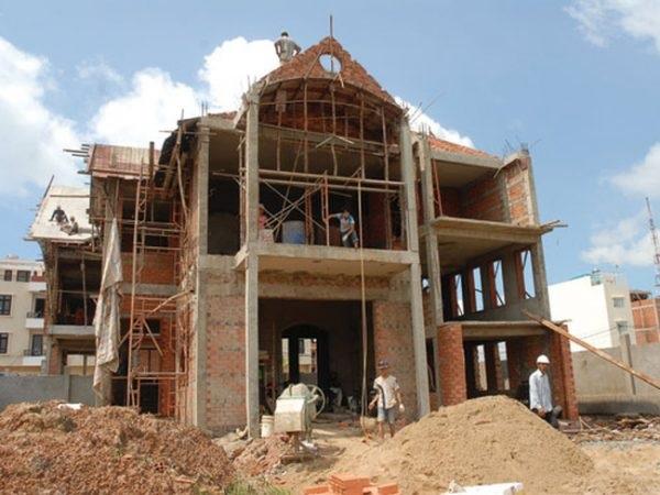 Mơ thấy xây nhà