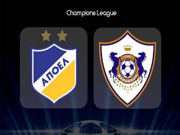 Dự đoán APOEL Nicosia vs Qarabag, 0h00 ngày 7/08