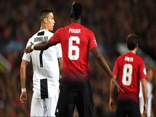 Ronaldo yêu sách đòi Juventus mua Pogba