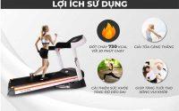 Sử dụng máy chạy bộ giúp cơ thể thư giãn, hỗ trợ tăng chiều cao