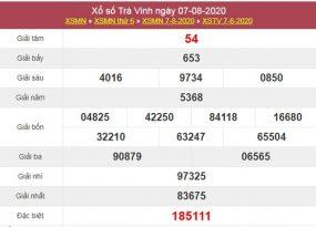 Soi cầu XSTV 14/8/2020 chốt lô số đẹp Trà Vinh thứ 6
