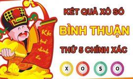 Thống kê XSBTH chốt số đẹp giờ vàng Bình Thuận thứ 5
