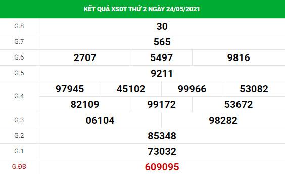 Phân tích XSDT ngày 31/5/2021 hôm nay thứ 2 chính xác