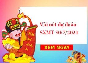 Vài nét dự đoán SXMT 30/7/2021