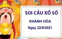 Soi cầu KQXSKH ngày 22/9/2021